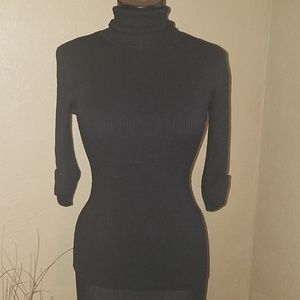 Maurices black ribbed top size small